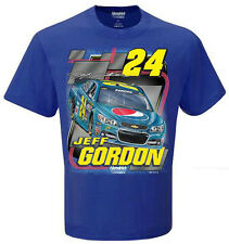 2015 JEFF GORDON #24 PEPSI MEN'S BLUE NASCAR TEE SHIRT
