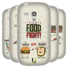 HEAD CASE THIS IS FOOD FIGHT CASE IN GEL PER SAMSUNG GALAXY S3 III MINI I8190