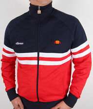 Ellesse Heritage - Rimini Track Top in Navy, Red & White *EXCLUSIVE* 80s