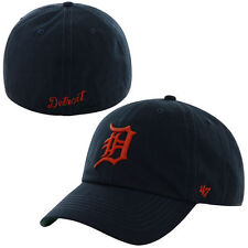 Detroit Tigers '47 Road Franchise Fitted Hat - Navy