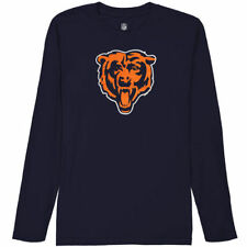 Chicago Bears Youth Team Logo Long Sleeve T-Shirt - Navy Blue - NFL