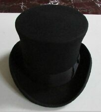100% Wool Victorian Mad Hatter Top Hat, Vivi,Magic Hat,Performing Cap Fashion