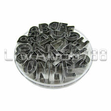 26 Letters Alphabet Shape Fondant Cookie Biscuit Cutter Cake Mold Mould Tool Box
