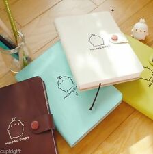 Molang Diary Ver.2 Planner Journal Scheduler Organizer Agenda Cute Rabbit Kawaii