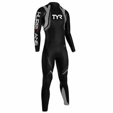 Tyr Mens Hurr C3 Wetsuit Swimsuit Nano SCS Coating Long Sleeve