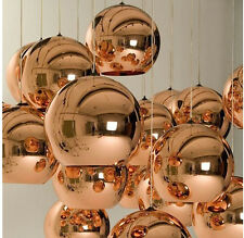 NEW Tom Dixon Pendant Lighting Copper Gold Shade Mirror Glass Ball Chandelier