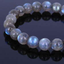 Men Women Labradorite Bracelet Grade AAA Natural Gemstone 8mm Bead DIY-KAREN 083