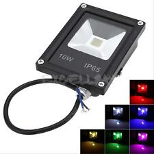 Ultrathin 10W LED Flood Night Light Garden Spotlight  Waterproof Outdoor Lamp