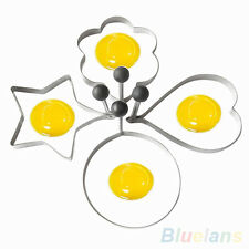 Stainless Steel Fried Egg Shaper Ring Pancake Mould Mold Cooking Kitchen Tools
