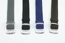 uhrenarmband 60-70er Retro Textil Perlon Nylon strap 18mm 20mm High Quality