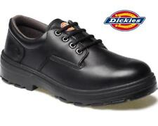 Dickies Sedona Safety Work Shoes, Black Leather Upper, Steel Toe - FD12230