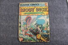 Vintage Golden Age Comic Classic Comics No. 5 Moby Dick  Collectible