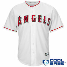 Los Angeles Angels of Anaheim Majestic Official Cool Base Jersey - White - MLB