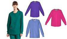 Dickies Uniforms Every Day Scrub Tops EDS Round Neck Plus Size Jacket 4X or 5X