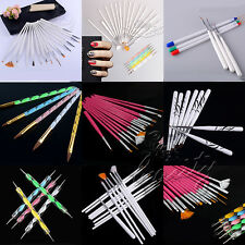 Hot Sale! Various Nail Art UV Gel Design Brush Set Painting Pen Manicure Tools