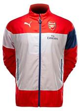 Puma Official Arsenal Leisure Wind Training Jacket Coat Top RRP £50