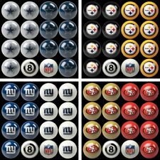 Choose Your NFL Team Home vs. Away Billiard Pool Ball Set - 16 Balls by Imperial