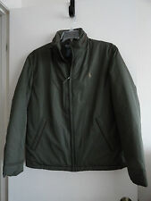 NWT POLO RALPH LAUREN PONY MENS STRATFORD WINTER JACKET LEATHER TRIM GREEN $175+