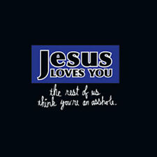 New Humor Adult Jesus Loves You Tee Shirt Size XL