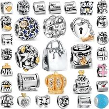 Unique Presents Design Best 925 Silver Sterling Bead Charm fit European Bracelet