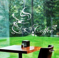 Removable Kitchen Coffee Cup Home Decals Vinyl Art Mural Decor Wall Sticker