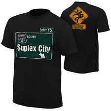 Brock Lesnar Suplex City WWE Authentic Mens T-shirt