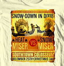 Heat Miser vs Snow Miser t-shirt Year without a Santa Clause Christmas retro tee