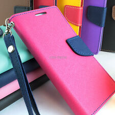 For Samsung Galaxy S III 3 Hybrid PU Leather & TPU Flip Wallet Pouch Case Stand