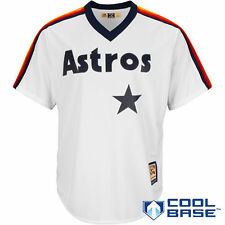 Houston Astros Majestic Cooperstown Cool Base Team Jersey - White - MLB