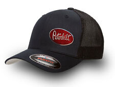 PETERBILT  FLEXFIT MESH TRUCKER CAP BLACK   PETERBILT TRUCKER CAP FLEXFIT  BLACK