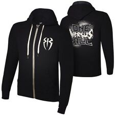 Roman Reigns One Versus All WWE Authentic Mens Zipper Hoody Sweatshirt