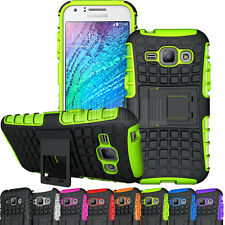 Rugged Hybrid Shockproof Armor Hard Case Cover For Samsung Galaxy J1 SM-J100F/H
