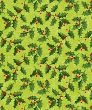 Holly Jolly by Studio E Quilt Fabric By The Yard
