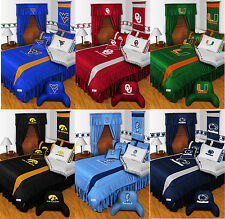 new NCAA College BEDDING SET Collections - Comforter Sheets Bed - PICK YOUR TEAM