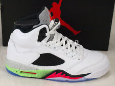 Nike Air Jordan 5 V Retro Space Jam Infrared Poinson Green Basketball 136027-115