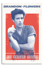 Brandon Flowers The Desired Effect Poster New - Maxi Size 36 x 24 Inch