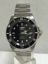 Men's Invicta 8926 Stainless Steel Pro Diver Black Dial Automatic Watch