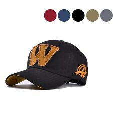 Casual Hat Mens Letter W Colorful Baseball Cap Ball Caps New 1pc