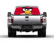 Angry Birds Car Rear Window Graphic See-Through Decal Sticker Truck SUV Van 002