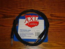"""2 10' GUITAR CABLES 1/4"""" INSTRUMENT PATCH CORD BASS ELECTRIC BASS ACOUSTIC MORE"""