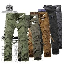 China Fashion Casual Mens Military Army Cargo Camo Combat Work Trousers Pants