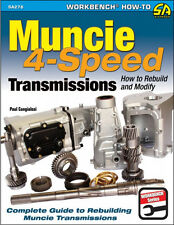 Muncie 4-Speed Transmissions: How to Rebuild & Modify Book~great reference~NEW!