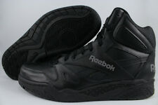 REEBOK ROYAL BB4500 HIGH HI WIDE E BLACK/GRAY CLASSIC BASKETBALL LEATHER MENS SZ