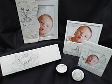 Noahs Ark Collection New Baby Gift Album Photo Frame Tooth Curl & Certificate