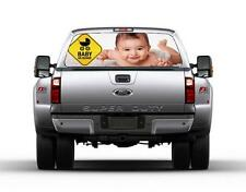 Personalized BABY ON BOARD Sign Car Rear Window Decal Sticker Car Truck SUV Van