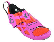 PEARL IZUMI TRI FLY V CARBON WOMENS ROAD BIKE SHOES HOT PINK/BLACK 2015