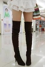 New Womens Stiletto Heel Over The Knee High Boots Leg Knee Boots Cosplay shoes