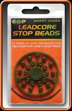 FTD - ESP LEADCORE STOP BEADS (5.5mm) for Leader & Chod CARP Fishing Rigs Tackle