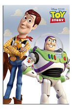 Toy Story Woody & Buzz Lightyear Official Poster New - Maxi Size 36 x 24 Inch