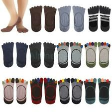 Women Cotton Ankle Five Toe Finger Sock Invisible Low out No-Show Socks Hosiery